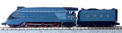 OSBND003 Osborns Exclusive A4 VALANCED 4903 PEREGRINE IN LNER BLUE